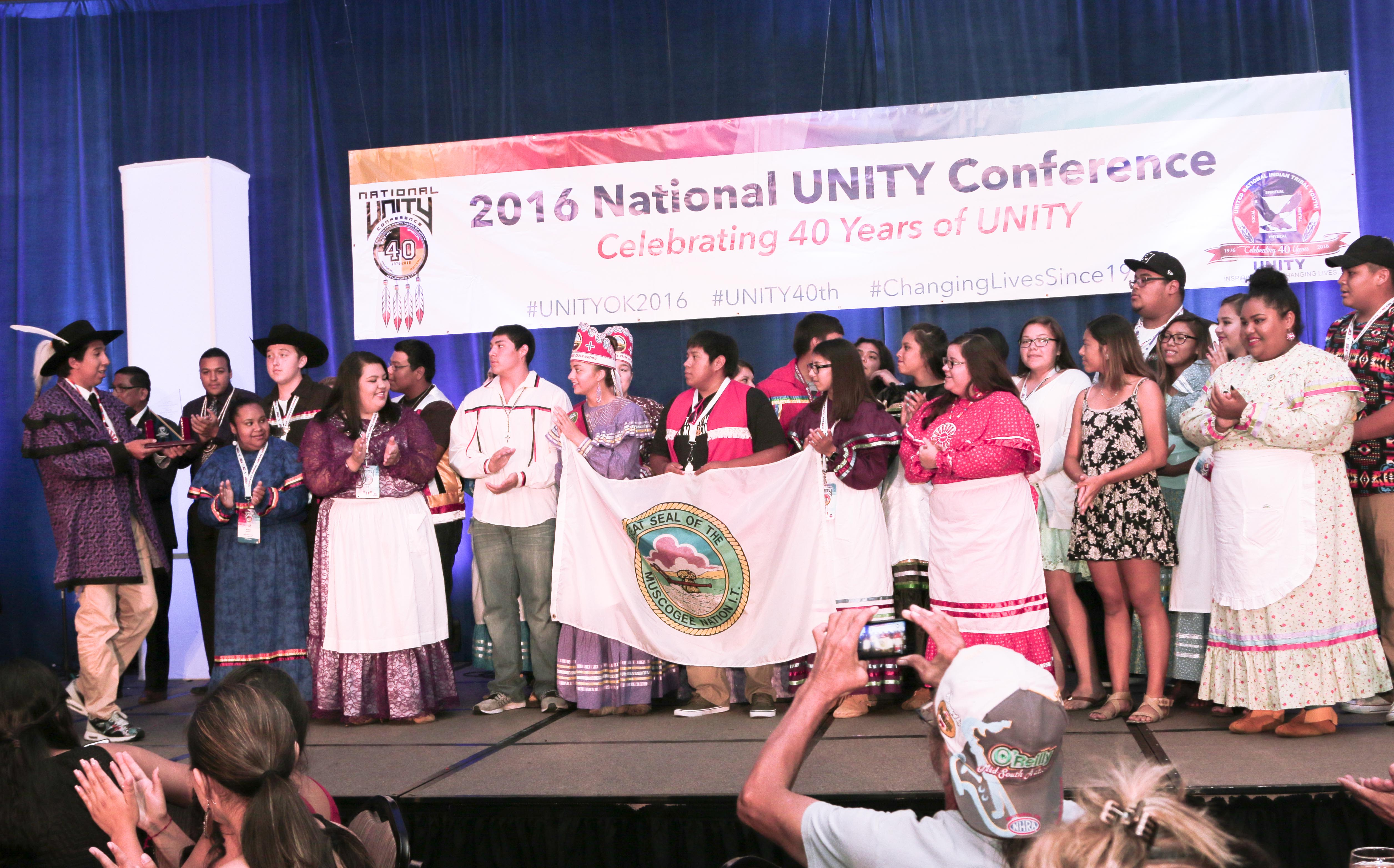 Muscogee (Creek) Nation Youth Council awarded Youth Council of the Year