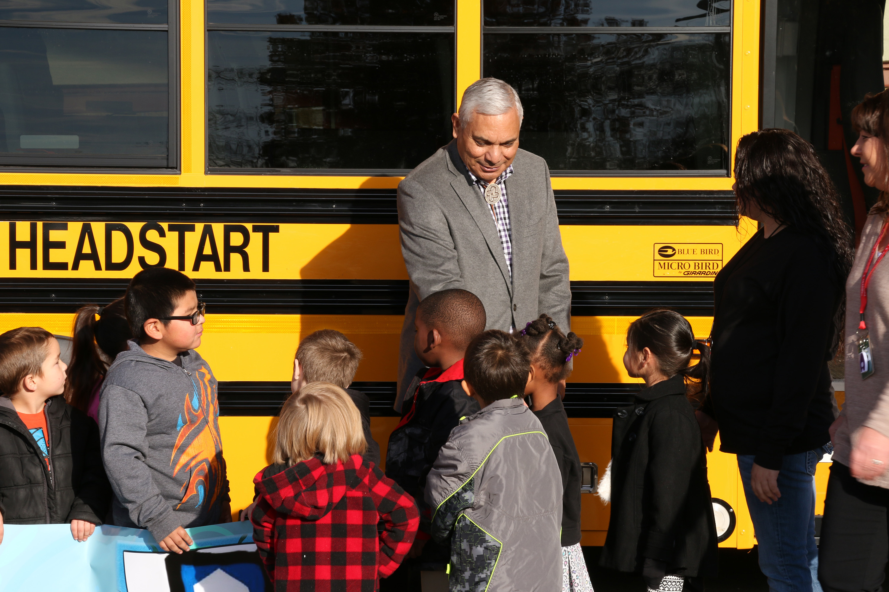 Federal Grant allows purchase of new buses for MCN Head Start