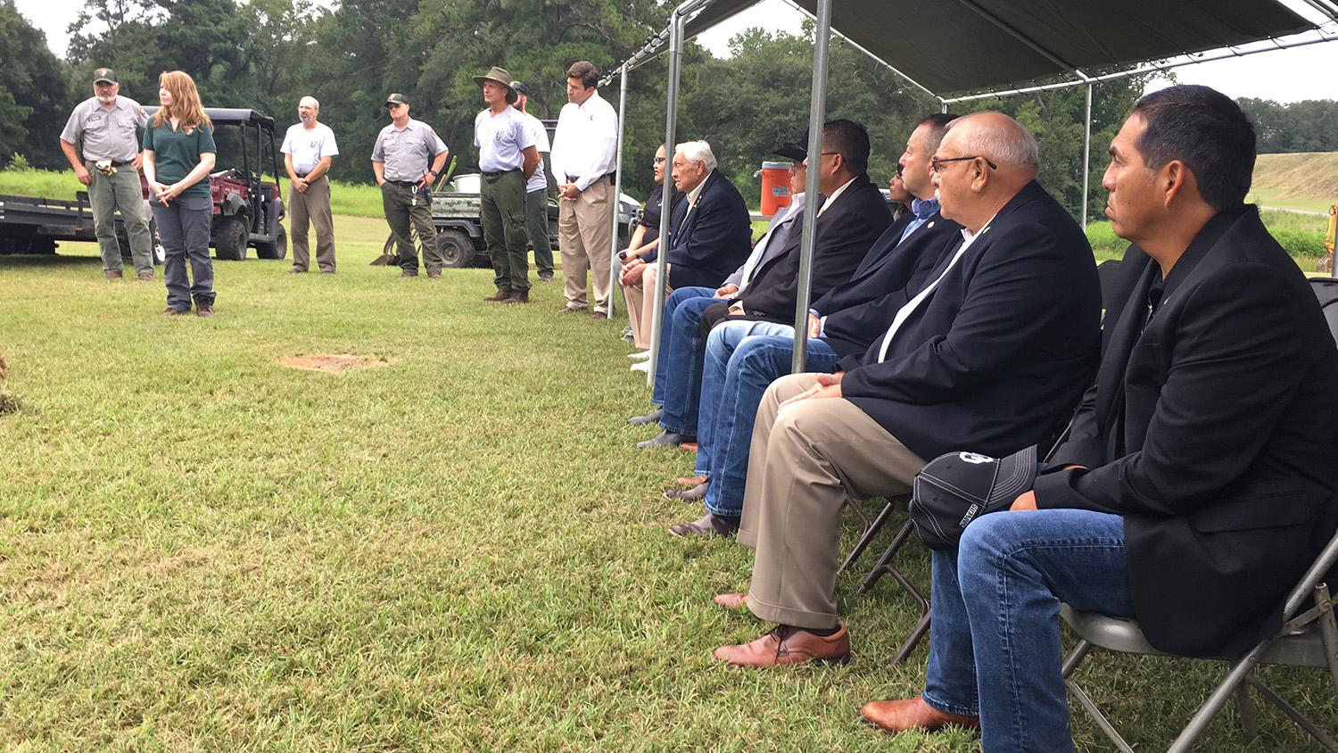 Muscogee (Creek) Nation and National Parks Service bring ancestors home
