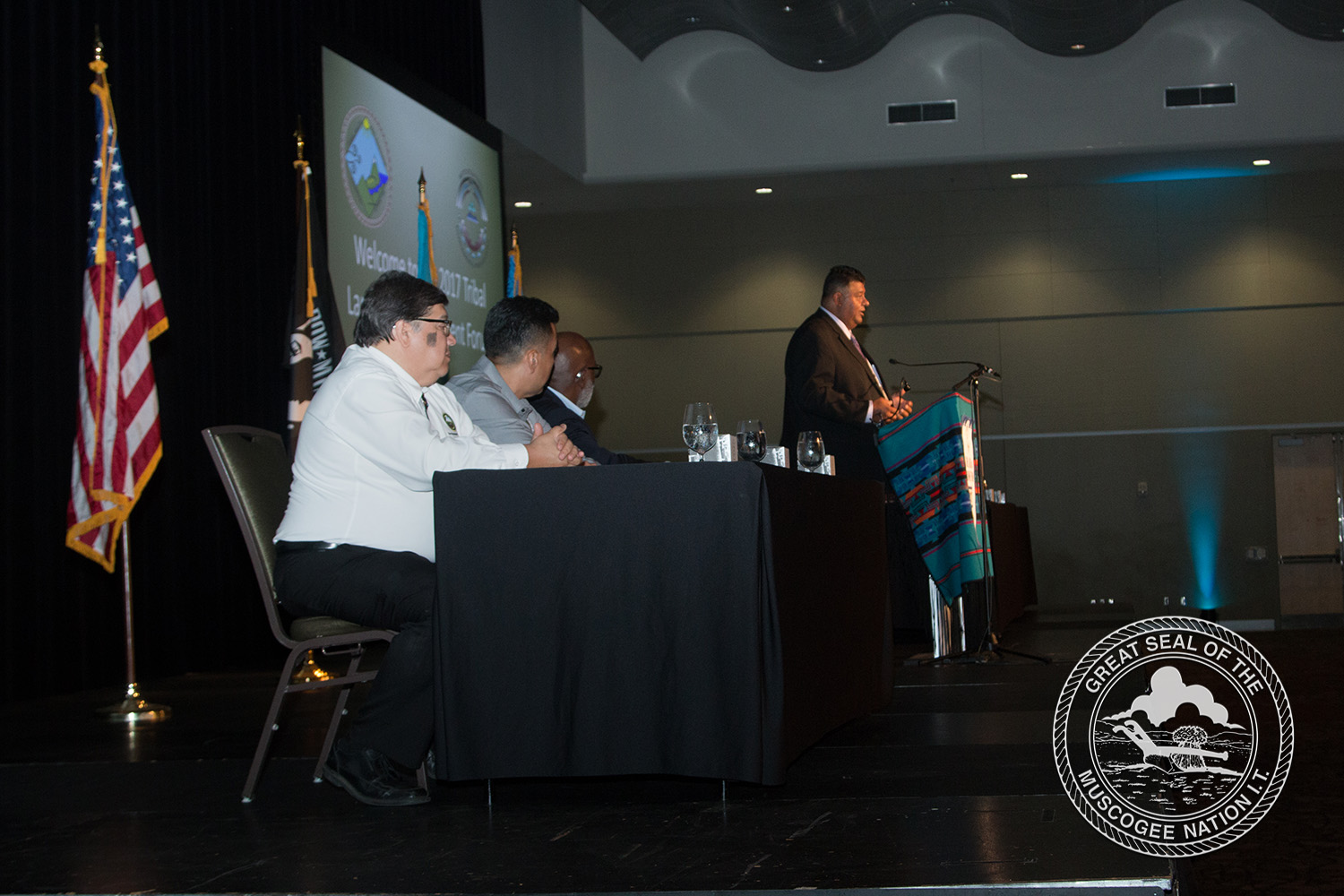 Muscogee (Creek) Nation presents at national environmental convention