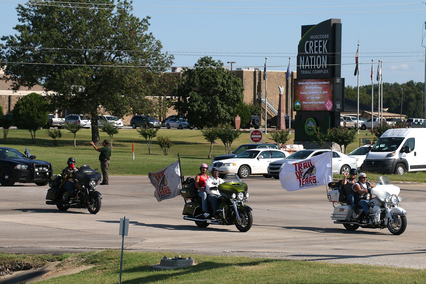 24th Annual Trail of Tears Commemorative Motorcycle Ride Makes Final Stop at Claude Cox Omniplex