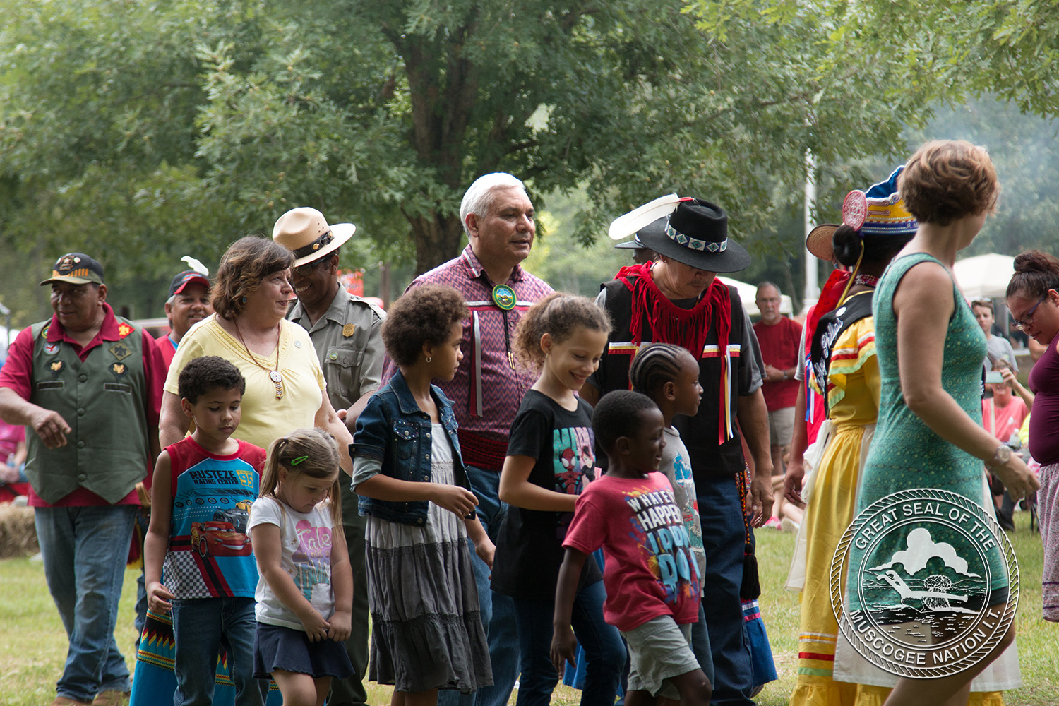 Muscogee (Creek) Nation shares culture in the Muscogee Homeland