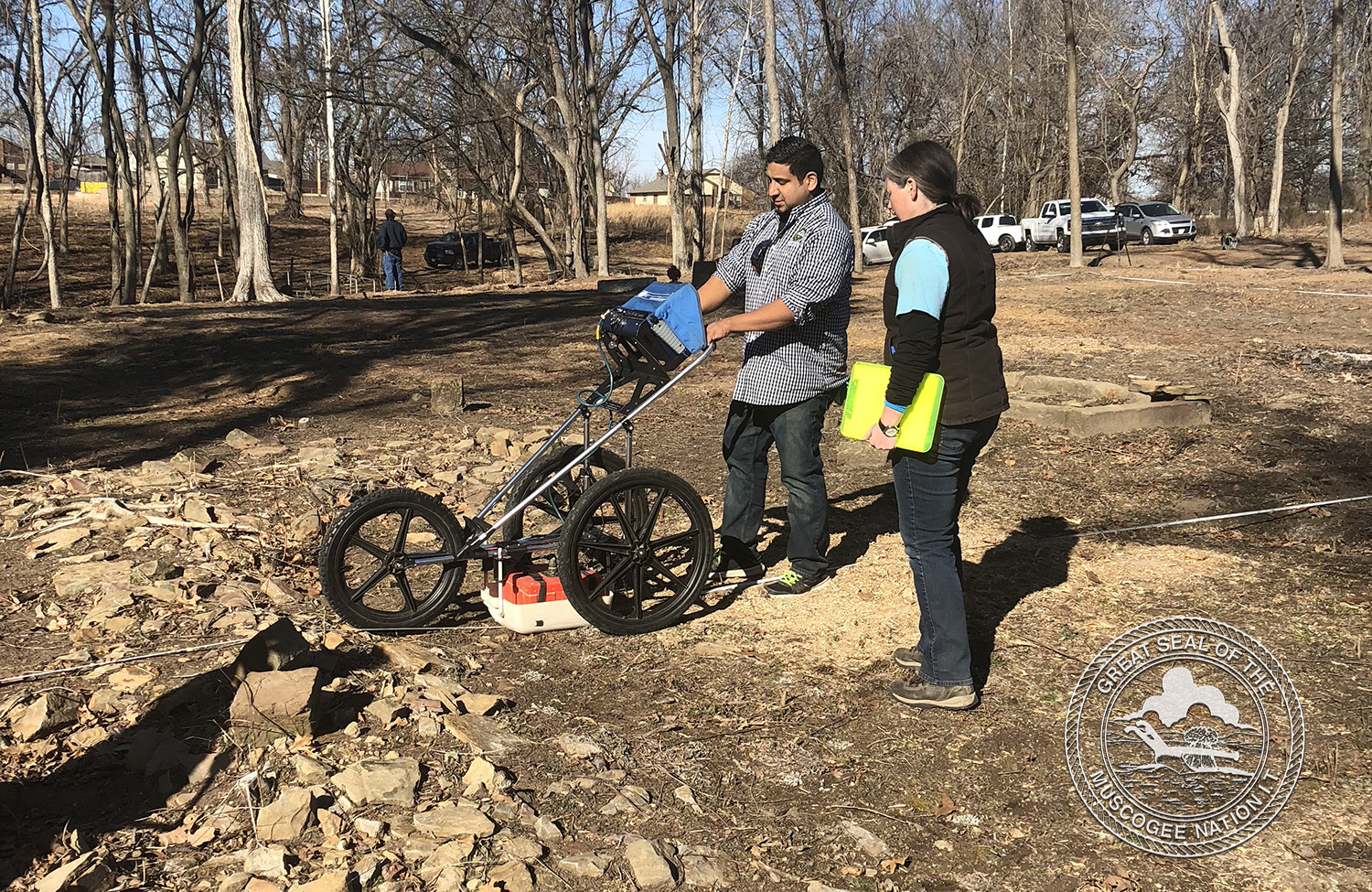 MCN assists in clean up, surveying of unmarked graves