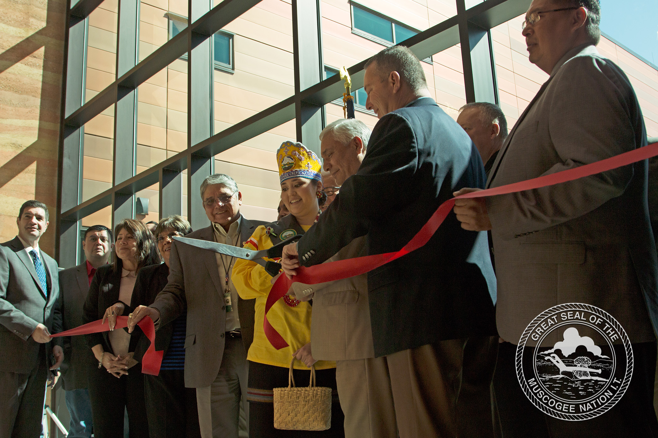 Muscogee (Creek) Nation Dedicates Okemah Creek Nation Community Hospital to Citizens and Community