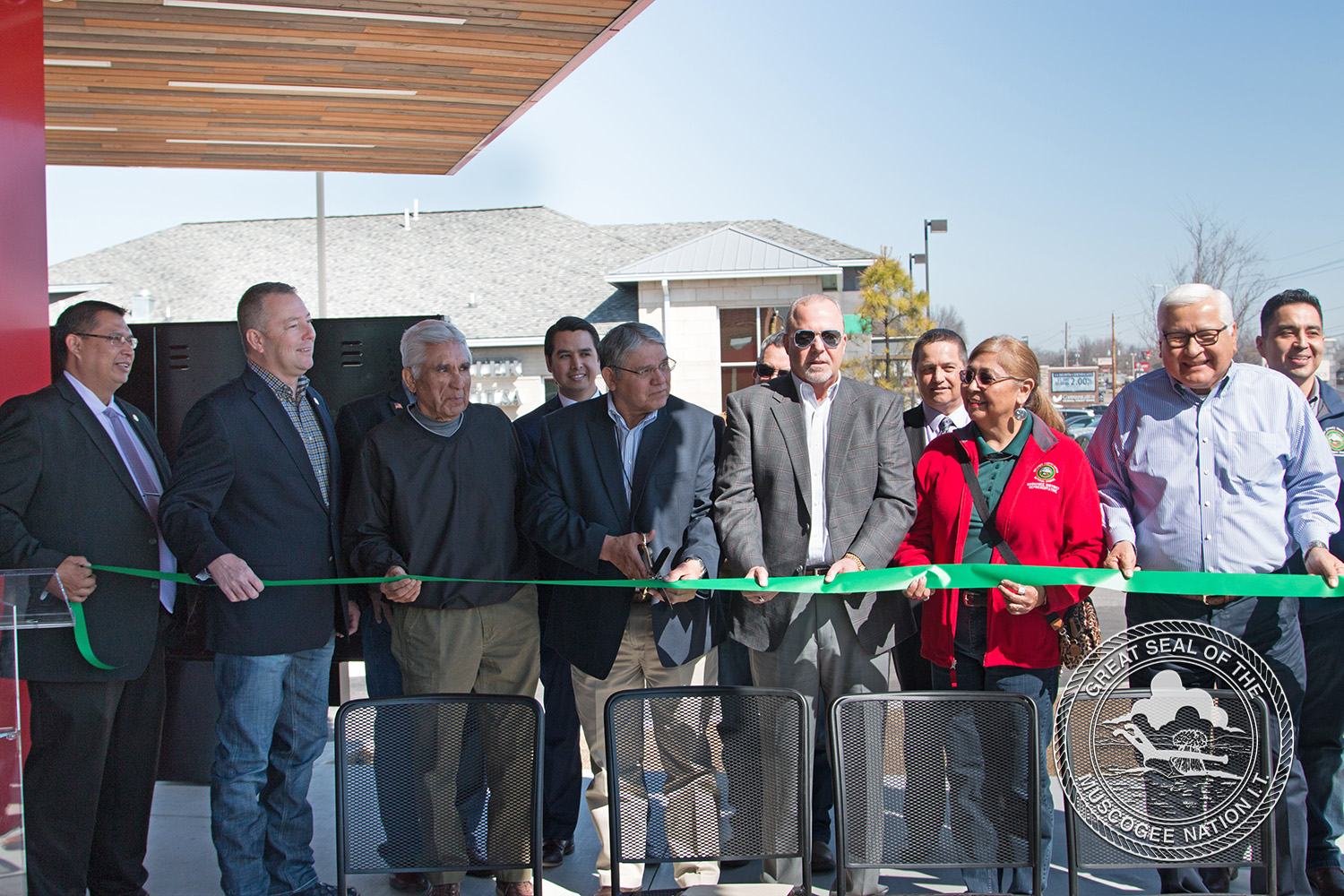 Muscogee (Creek) Nation Celebrates Grand Opening of Rex's Chicken Franchise