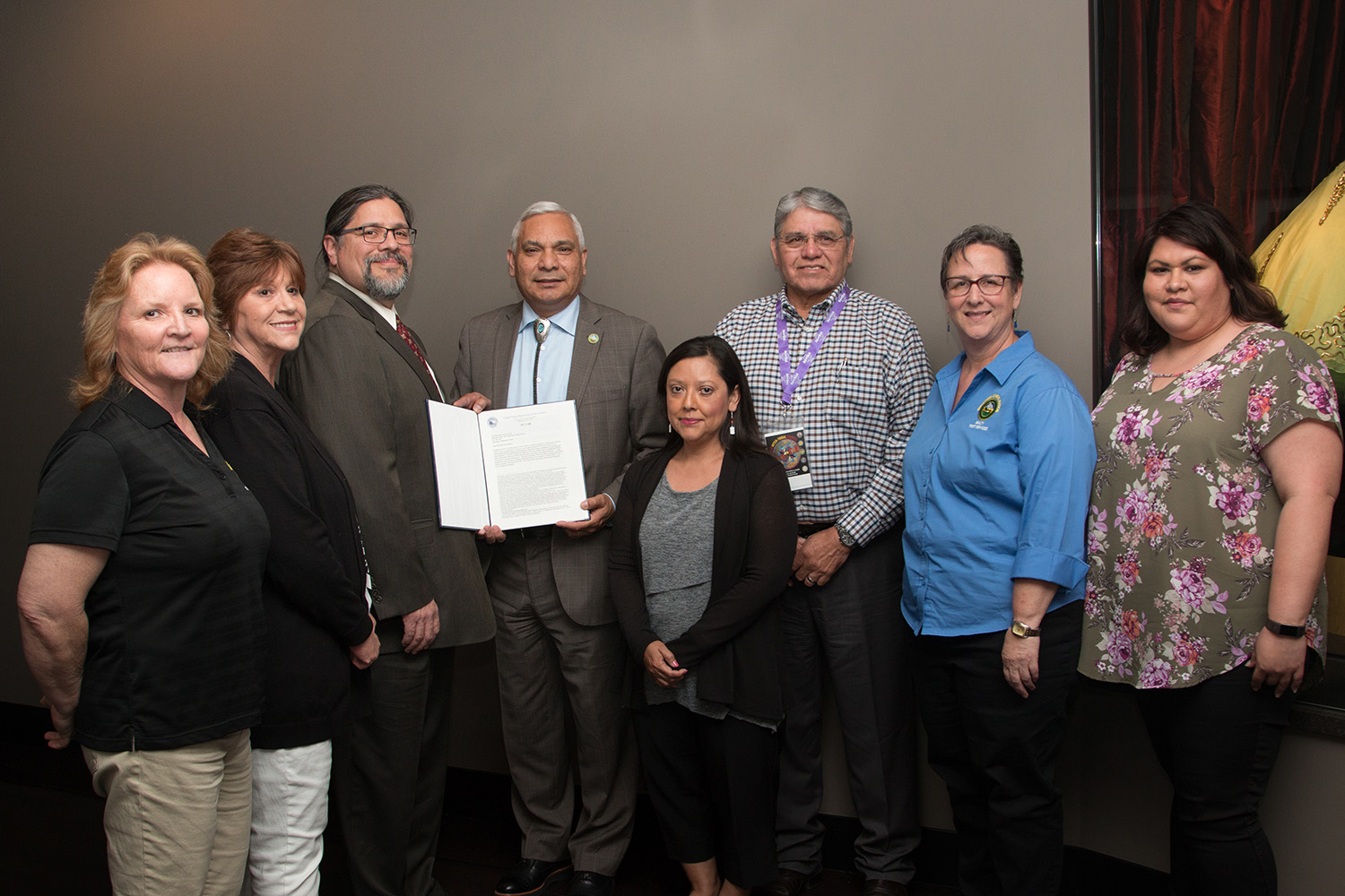 Muscogee (Creek) Nation Signs Fountainhead Land into Trust After Nearly 13 Years