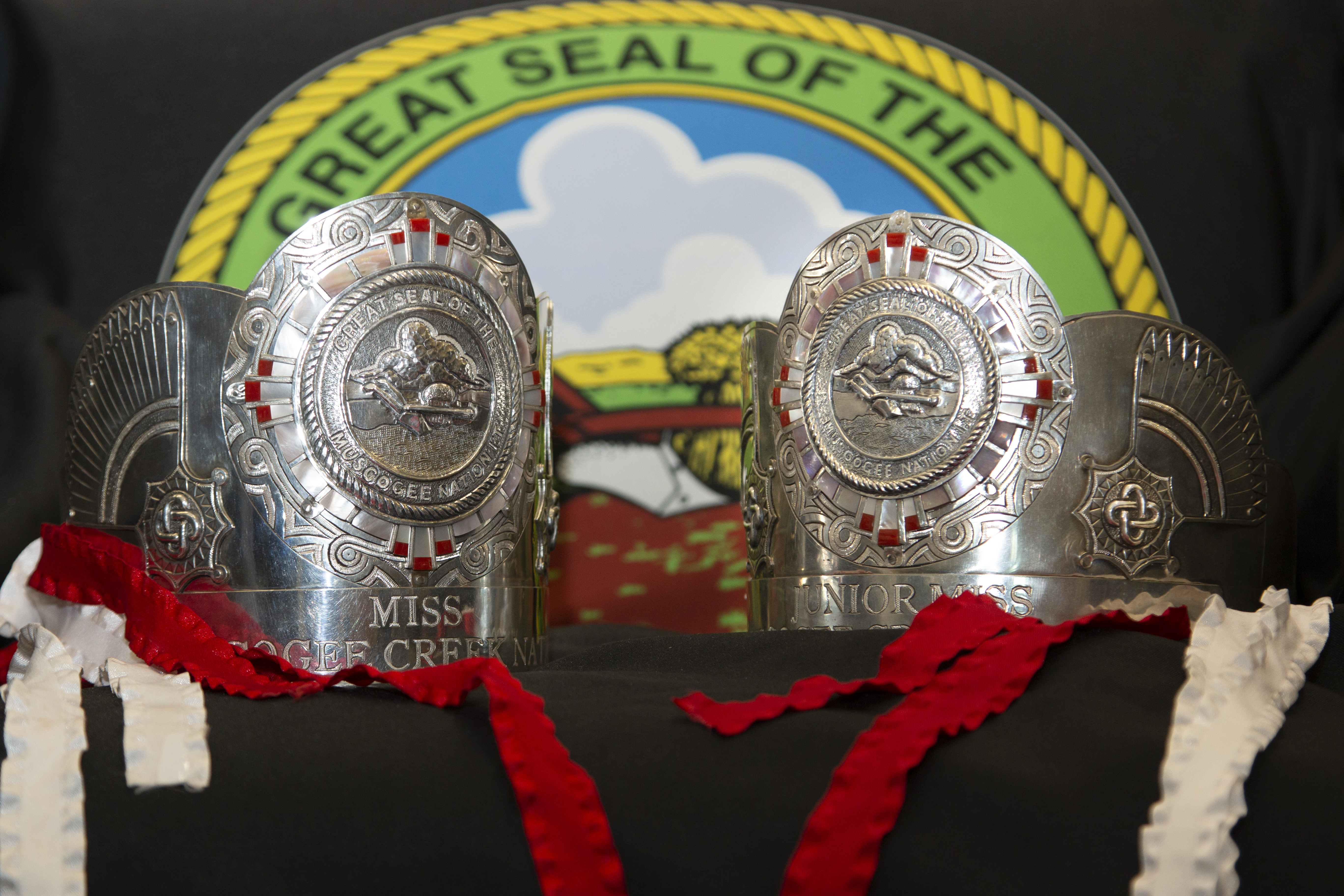 Muscogee (Creek) Citizen Designs New Silver Crowns to be Showcased by MCN Royalty