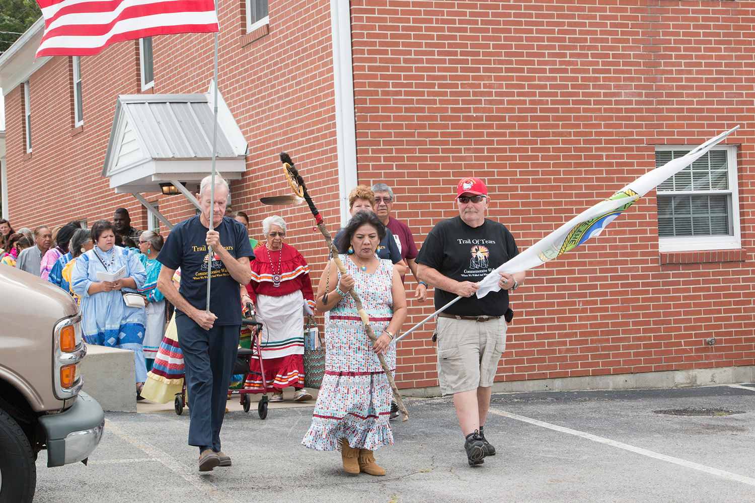 Muscogee (Creek) citizens host Trail of Tears Commemoration