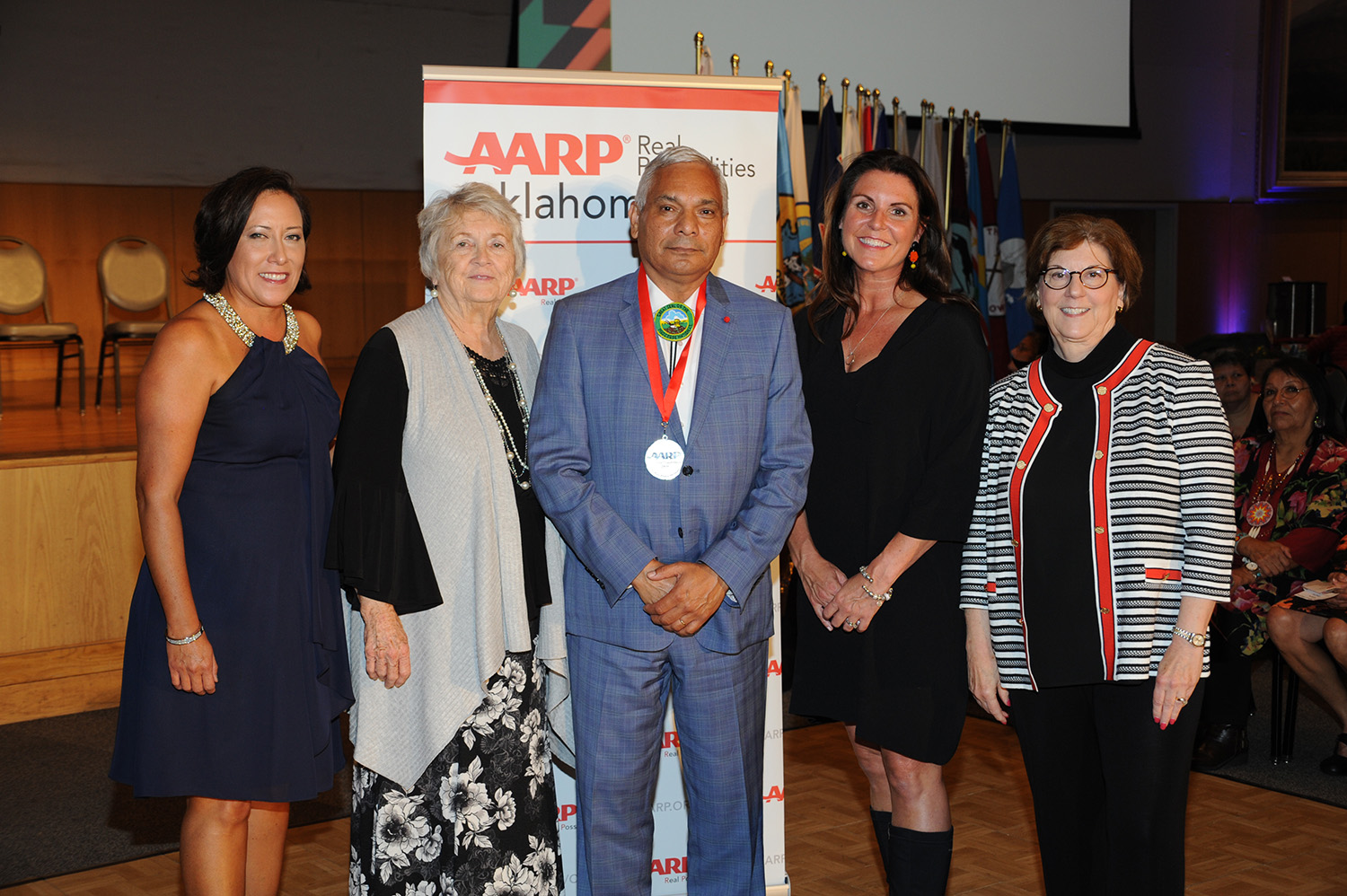 MCN Principal Chief, Citizens Recognized as AARP Oklahoma's 10th Annual Indian Elder Honorees