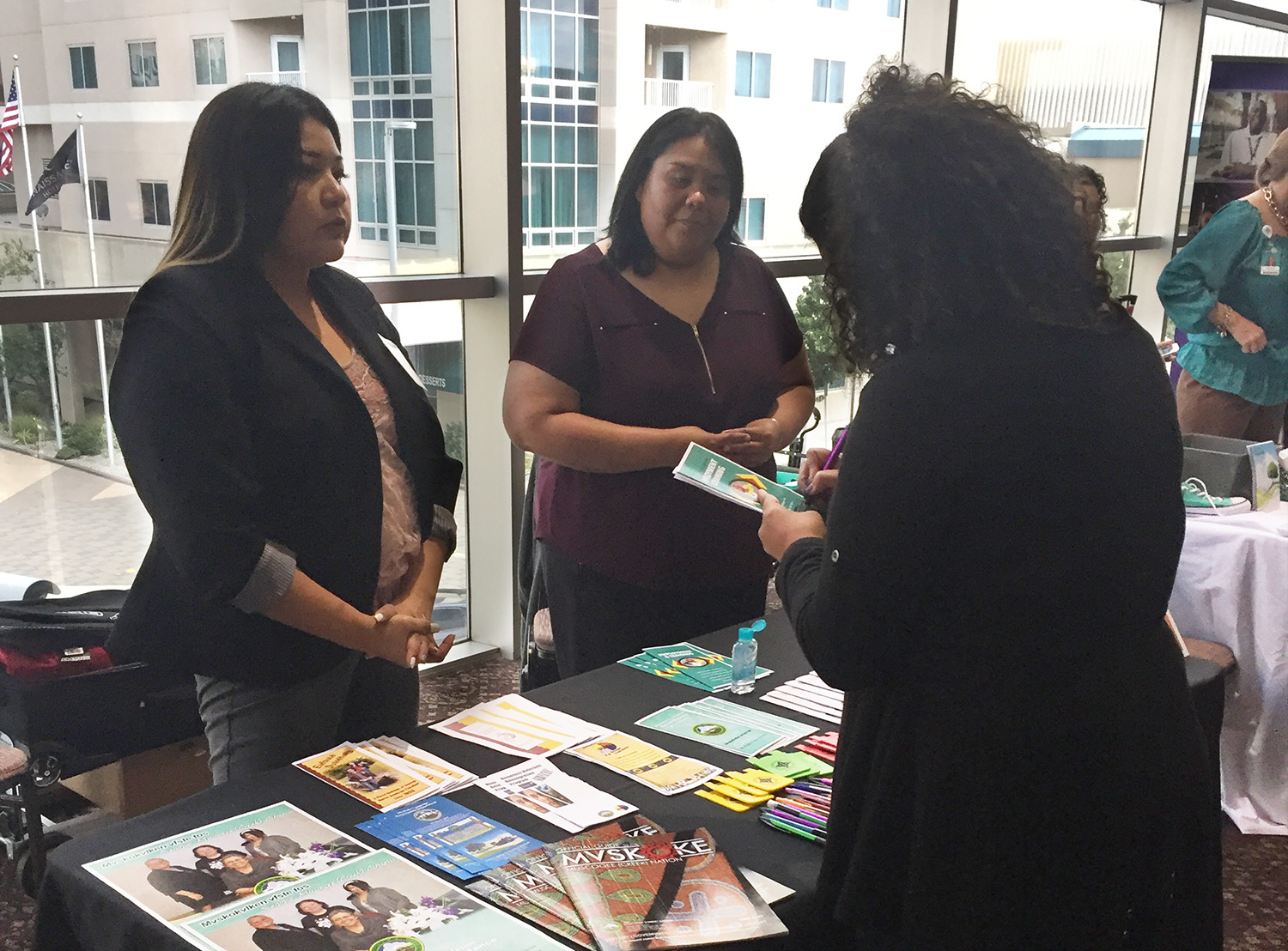 MCN Principal Chief speaks, shows support during trauma-informed instruction summit