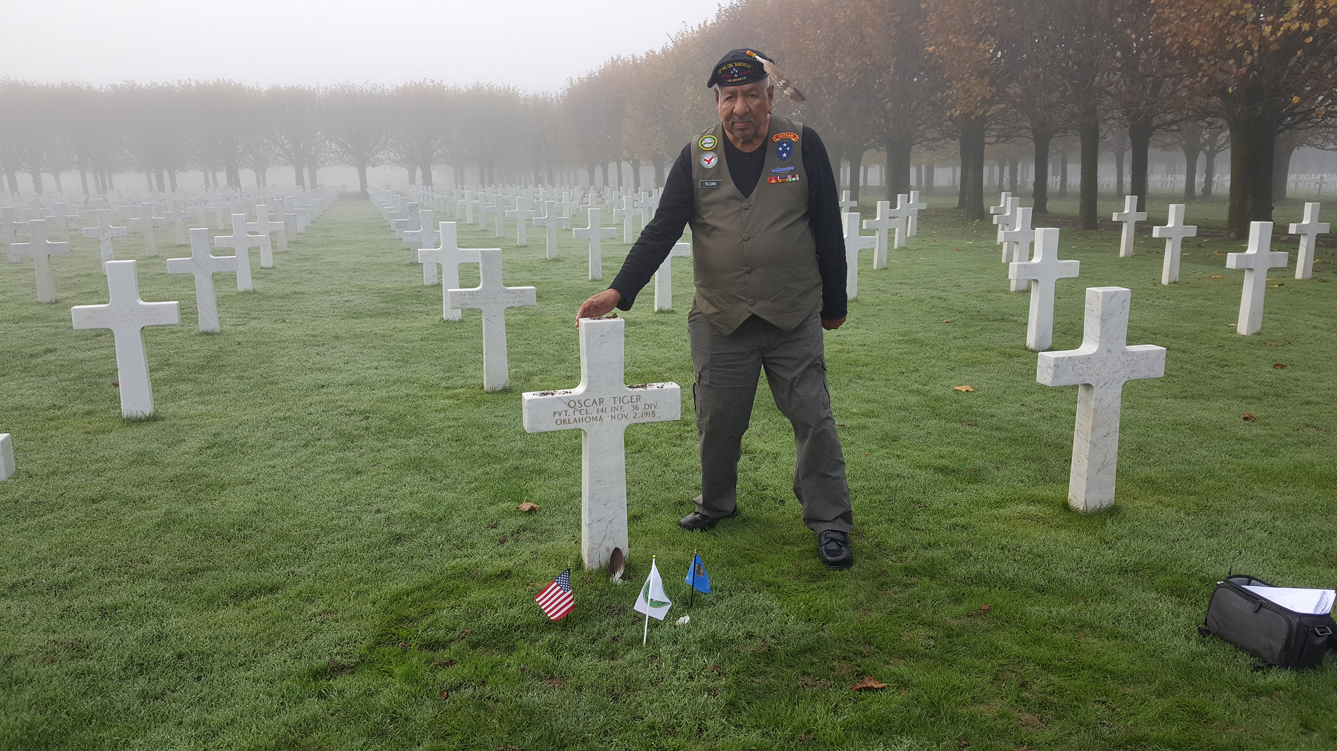 Veteran Reflects on Attendance to Commemorate the 100th Anniversary of the End of World War I