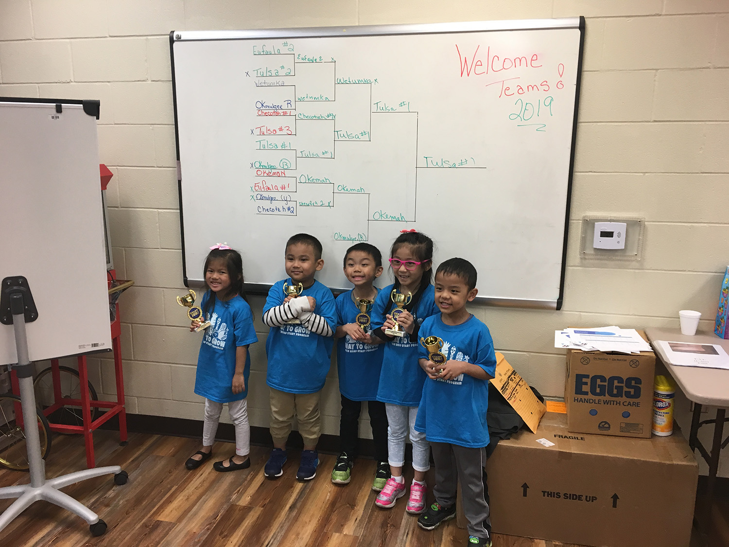 Muscogee (Creek) Nation Head Start Programs Compete in Mvskoke Language Bowl