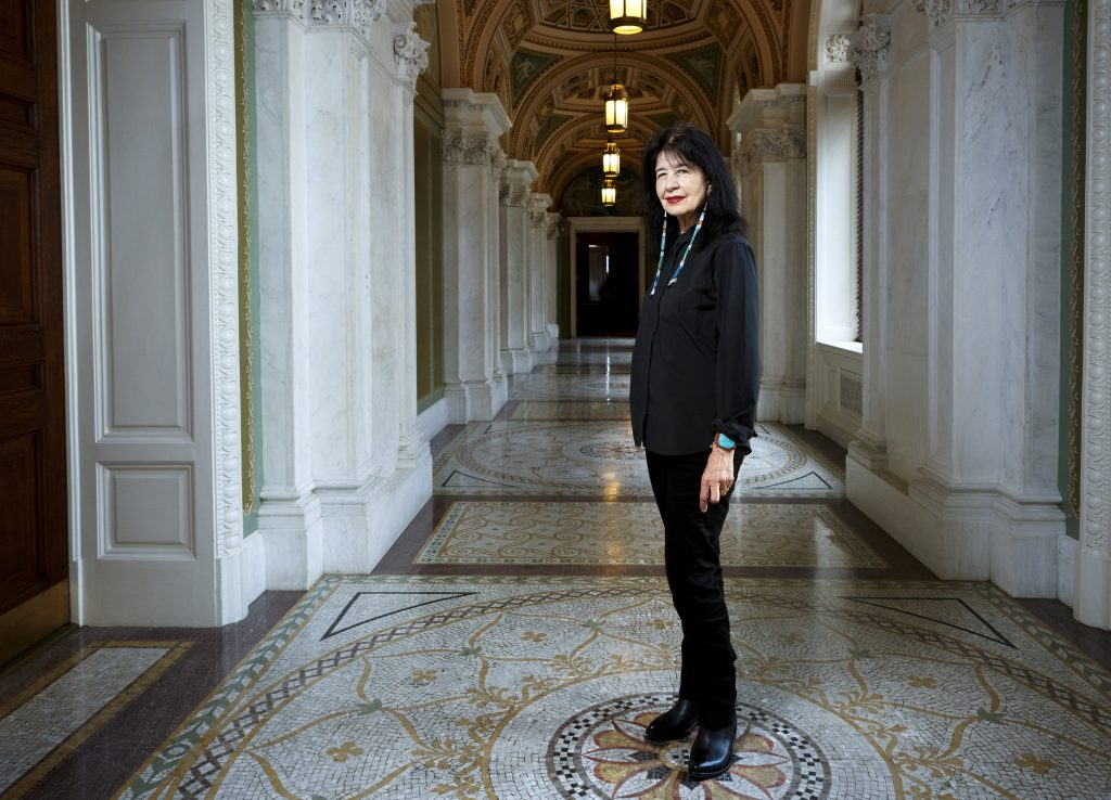 U.S. Poet Laureate Joy Harjo, Photo courtesy of Shawn Miller.