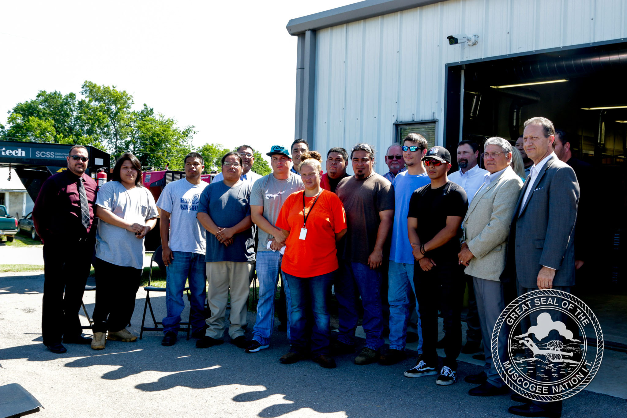 Muscogee (Creek) Nation Reintegration Program celebrates opening of welding school