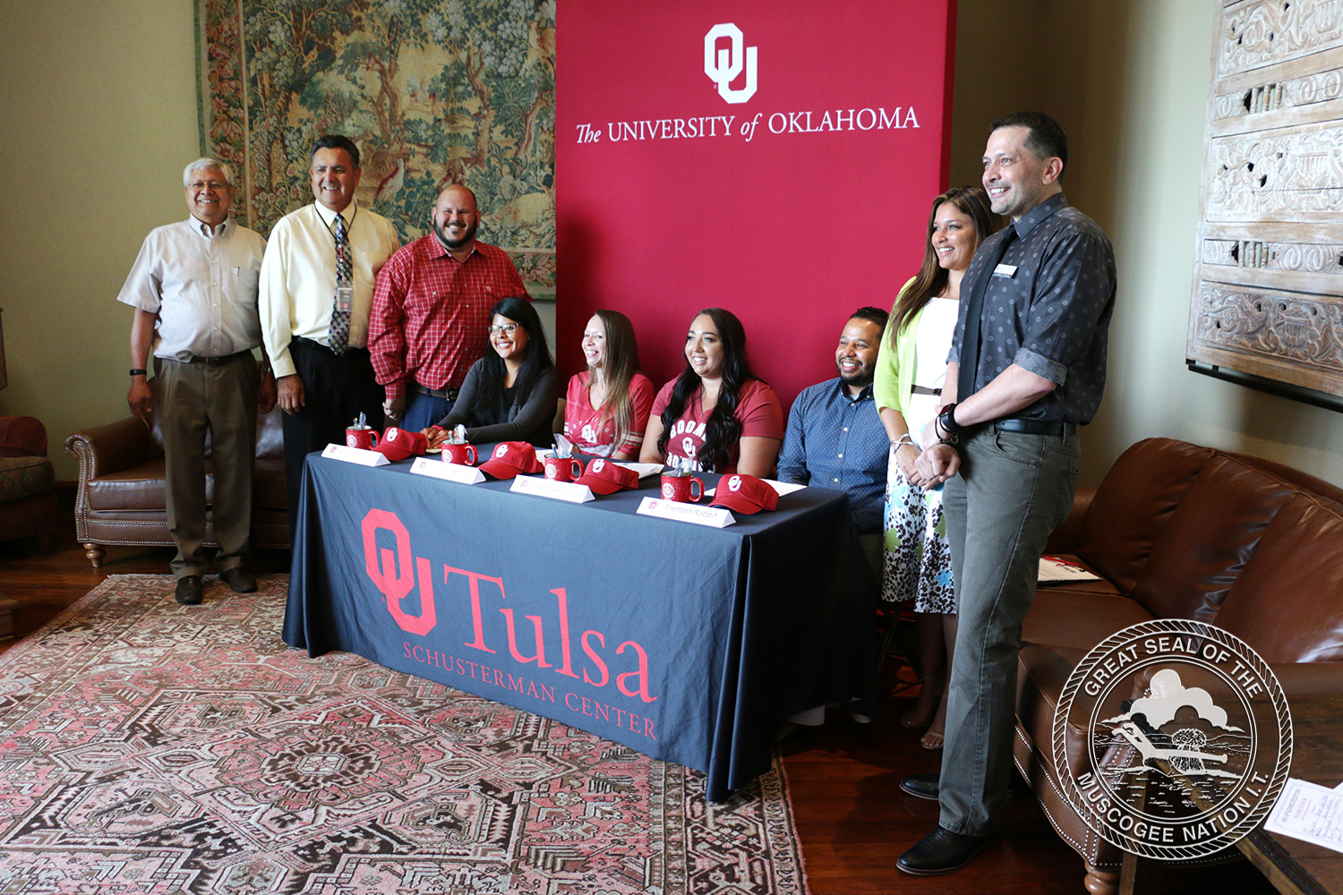 Muscogee (Creek) Nation partners with University of Oklahoma for social work grant