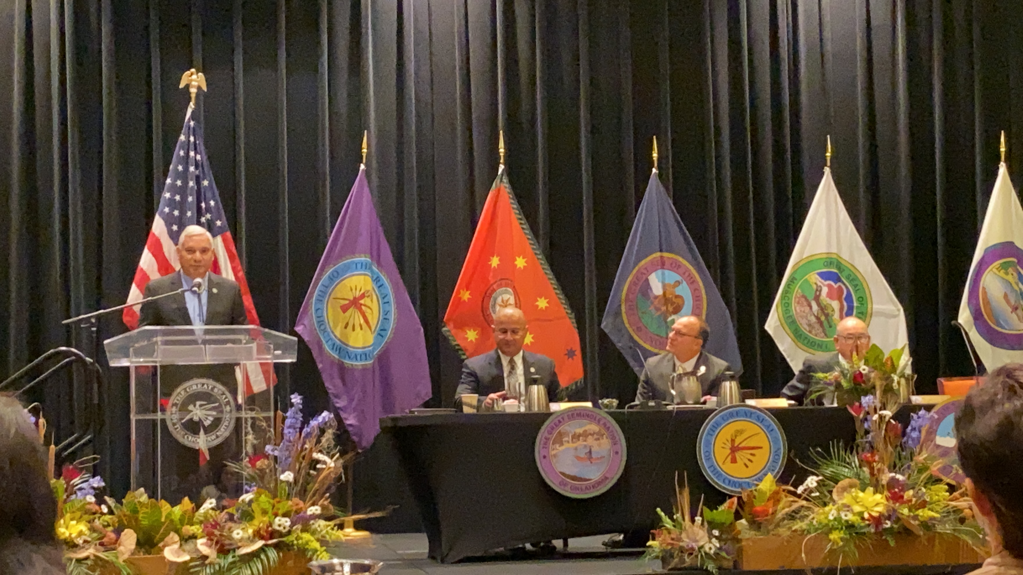 Inter-Tribal Council of the Five Civilized Tribes unites once again in Choctaw country