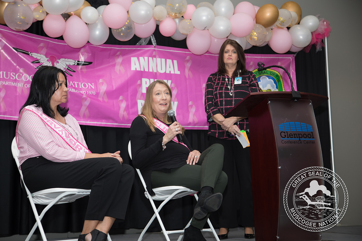 Muscogee (Creek) Nation celebrates Breast Cancer Awareness Month