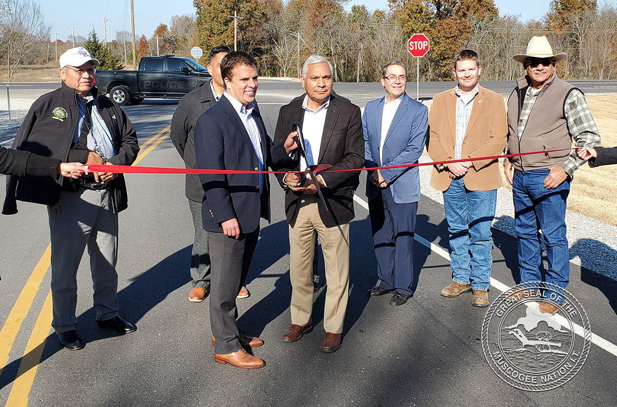 Muscogee (Creek) Nation completes $734K improvement on public intersection