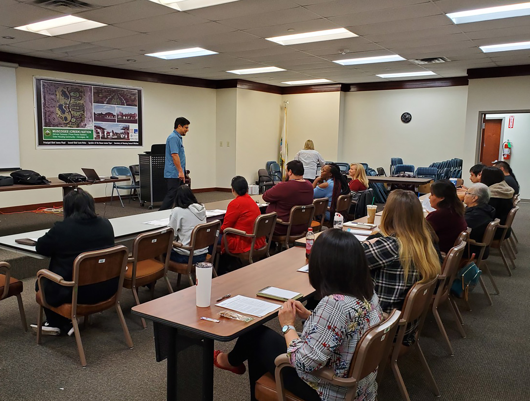 Muscogee (Creek) Nation collaborates with TFCU to offer financial workshop