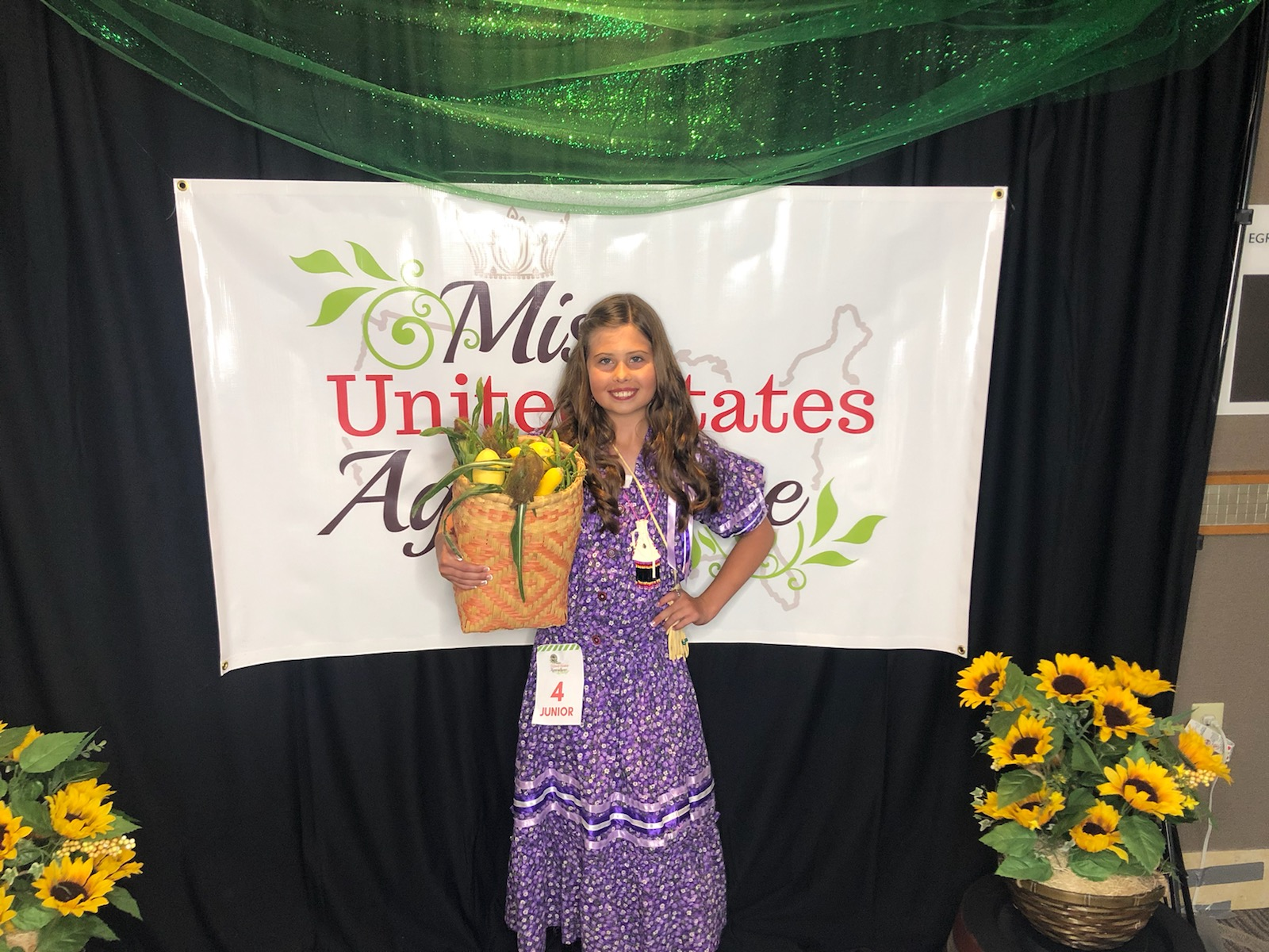Muscogee (Creek) citizen crowned as National Junior Miss United States Agriculture
